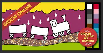 Giochi Da Colorare Online Il Treno