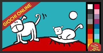 Giochi Da Colorare Online Cane E Gatto