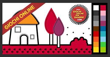 Disegni Da Colorare On Line.Giochi Da Colorare Online Colorare La Casa