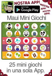 Maui Mini 25 mini giochi in una sola applicazione per bambini